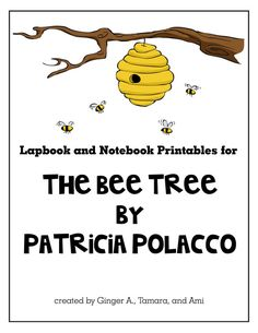 """James had the most fun """"rowing"""" The Bee Tree. We even got to visit a real bee keeper! Most of the mini books for the lapbook came from . Patricia Polacco, Kindergarten Units, Five In A Row, Study Methods, Preschool Graduation, Unit Studies, Bee Theme, Student Teaching, Working With Children"""
