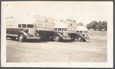 General Motors Parade of Progress Trucks