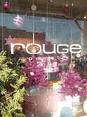 """Rouge, winner of """"Most Original"""" prize in Salem MA 2012 Winter Holiday Window Contest"""