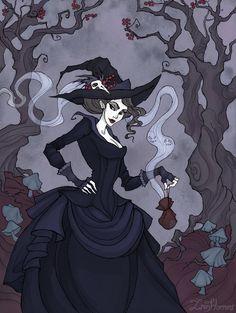 The Witch's Bag by IrenHorrors.deviantart.com on @DeviantArt