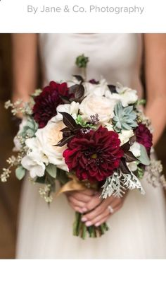 early fall bridal bouquet blush maroon grey garden roses dahlias seeded eucalyptus dusty Informations About Maroon Wedding Ideas Purple Flowers Pin You can easily us Spring Wedding Bouquets, Bridal Bouquet Fall, Fall Wedding Bouquets, Fall Wedding Flowers, Bridal Flowers, Blush Bouquet, Freesia Bouquet, Blush Roses, Purple Flowers