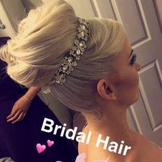 Glamourishous Bridal Hair, Glamour, Wedding, Fashion, Valentines Day Weddings, Moda, Fashion Styles, Weddings, The Shining