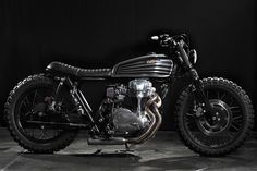 The Kawasaki W650 is a motorcycle just begging to be customized. This 2003 model has been transformed by Cafe Racer Dreams, with oodles of Spanish style.
