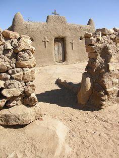 Dogon church, Mali, Africa