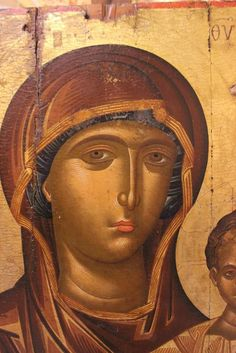 Sacred Art, Virgin Mary, Mona Lisa, Religion, Artwork, Painting, Inspirational, Byzantine Art, Work Of Art