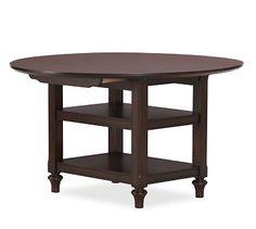 Shayne Drop-Leaf Kitchen Table #potterybarn