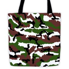 OPSGEAR® French Central Europe Camo All-Over Tote 15 x 15 (Both Sides)