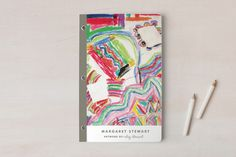 Work of Art Notebooks by annie clark | Minted
