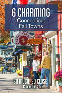 Discover quintessential New England charm with a visit to Connecticut's quaint towns& take pleasure in their historic architecture, village greens and tidy shops. Plan a visit today and find fall faster in Connecticut! Weekend Trips, Vacation Trips, Vacation Spots, Day Trips, Vacation Destinations, Weekend Vacations, Holiday Destinations, Weekend Getaways, New England Fall