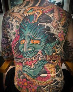 Oni Mask Tattoo Ideas, tattoo designs, tattoos for Guys, back tattoo Finger Tattoos, Hand Tattoos, Body Art Tattoos, Japanese Oni Mask, Japanese Mask Tattoo, Savage Tattoo, Samurai Wallpaper, Hannya Mask Tattoo, Tattoo Designs
