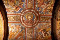 Photo of Anagni Cathedral: Crypt Vault Fresco: Ark of the Covenant