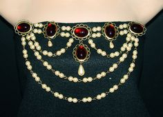 Renaissance Bodice Jewels Medieval Bodice Jewels by DRAGONPIPES