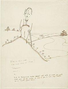 Antoine de Saint-Exupéry (author of The Little Prince) to Hedda Sterne, ca. 1943