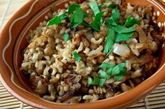 Mujaderra (Mujadara), a hearty and satisfying lentil and rice pilaf, has for centuries been a staple in the Middle-Eastern diet, as well as in the cui ...