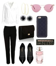 """""""Untitled #5"""" by iloveyou-it on Polyvore featuring Dolce&Gabbana, By Malene Birger, Yves Saint Laurent, Mansur Gavriel, Lana, Oliver Peoples, Tory Burch and Elie Saab"""