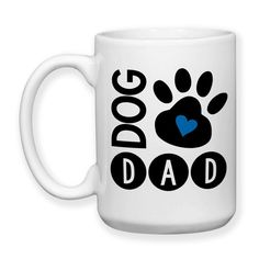 Dog Dad, I Love My Dog, Dog Owner, Dog Lover, Dog Paw Print, Dog Life, Dog Gifts, Dog Mug, 15 oz, Coffee Mug, Tea Mug, Cocoa Mug, Dishwasher Safe / Microwave Safe    ★★★★★★★★★★★★★★★★★★★★★★★★★★★★★★★★★★★★★★★★★★★    This mug design is professionally created and inked in FL. USA.    Each item is made after receiving an order, and due to the hand made and custom designed nature the items can vary slightly from the picture shown. Monitors may display colors differently than real life.    The…
