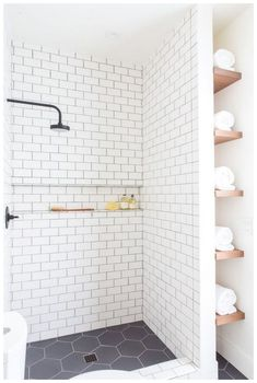 Pervect Small Bathroom Makeover Ideas On A Budget. Small Bathroom Remodel On A Budget Bathroom Floor Tiles, Wood Bathroom, White Bathroom, Small Bathroom, Room Tiles, Bathroom Ideas, Shower Ideas, Tile Floor, Bathroom Remodeling