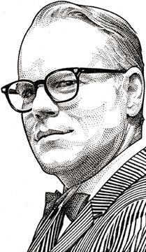 Wall Street Journal portrait (hedcut) of Philip Seymour Hoffman