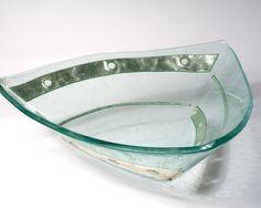 Silver Geometrik Tri-Bowl