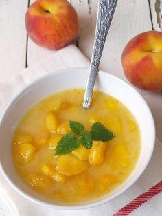 Őszibarack leves