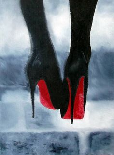 """""""Louboutin At Midnight"""" by Rebecca Jenkins //  // Imagekind.com -- Buy stunning, museum-quality fine art prints, framed prints, and canvas prints directly from independent working artists and photographers."""