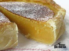Gosta de Tarte de Feijão? Então aprenda como fazer uma deliciosa Tarte de feijão com esta receita!