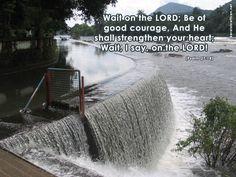 psalm 27 | Psalm 27:14 Papel de Parede Imagem