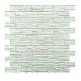 Found it at Wayfair Supply - Timber Glass Mosaic Tile in White