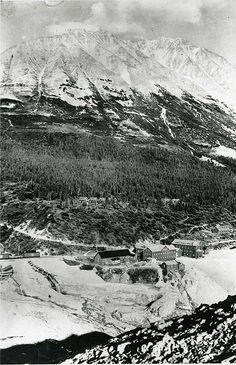 Ancient Alaska business - carpenter shop. (Via thePinner - view the BlogSpot to see more Ancient Alaska.