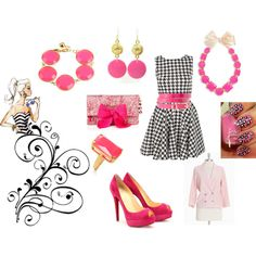 My inner Barbie, created by janet-campbell-robinson.polyvore.com