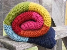 Kaleidoscope baby blanket Knitting