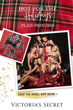 Plaid on plaid on plaid: it's at the top of our gift list.