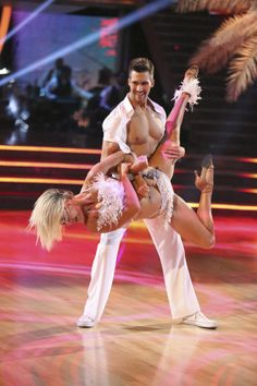 James looks HOT! And his story about being chubby and being teased about it was very touching.  Well look at him now bullies!  ~   Peta Murgatroyd and James Maslow  -  Dancing With the Stars  -  week 2  -  season 18  -  spring 2014