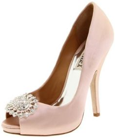My Wedding Shoes in White, But wouldnt mind a pair in pink too:)