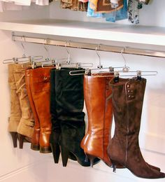 In this post are ways to organize your shoe clutter using simple everyday items. Craft Room Closet, Closet Bedroom, Closet Space, Shoe Closet, Ants In House, House Viewing, How To Store Shoes, Everyday Items, Closet Organization