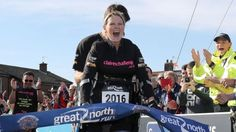 36-year-old, pregnant woman, paralyzed from the waist down completed the Great North Run, a half marathon, five days after she started it. Claire Lomas is an inspiration to us all!