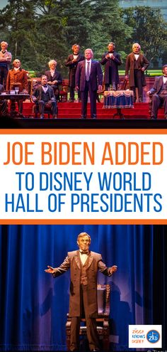 As Joe Biden is on his way into the White House as the 46th President of the United States, Disney has now confirmed that The Hall of Presidents is closing for refurbishment and a Joe Biden Animatronic figure is being added to the attraction. Read more details in this post from Ziggy Knows Disney. #disney #disneyworld #disneyplanning #hallofpresidents #disneyattractions Disney World Facts, Disney World Secrets, Disney World News, Disney World Magic Kingdom, Disney World Tips And Tricks, Walt Disney World, Disney Disney, Disney On A Budget, Disney World Vacation Planning