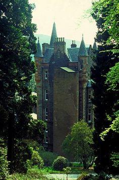 Benmore Castle Argyll Scotland
