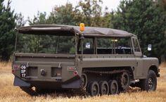 The Laird Centaur Land Rover half-track.
