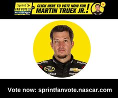 Have you voted? Click the image to vote for Martin Truex, Jr. to race in the All-Star race and be eligible to win a trip for two to a 2015 Chase for the NASCAR Sprint Cup™ race of your choice!