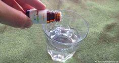2 gouttes d'huile essentielle de citron dans un verre d'eau… vous serrez étonné de tous les avantages !