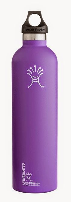 HYDRO FLASK 24oz NARROW MOUTH  ACAI PURPLE - The 24 oz vacuum insulated Hydro Flask has a smaller mouth opening for better control, allowing for fewer spills and more hydration. The larger size works for an endless variety of activities, which means the 24 oz Hydro Flask bottle will go with you wherever your imagination takes you.