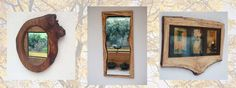 WoodKnot Designs make a variety of large and small frames from spalted beech