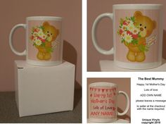 Minnie Mouse Personalised Any Name Picture Fabulous Mug Cup Present Novelty Gift