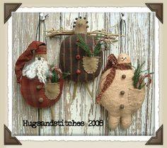 Primitive Crafts - Bing Images christmas