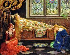 Sleeping Beauty, John Collier