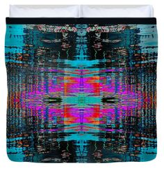 "Water Cross square  King (104"" x 88"") Duvet Cover"