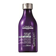 L'Oreal Profissionnel Absolut Control - Shampoo 250ml  Ideal para cabelos volumosos e indisciplinados, sejam eles lisos, crespos ou cacheado...