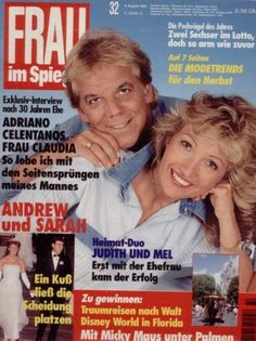 "Sarah & Andrew ""Frau im Spiegel"" (Nr.32 vom 4.8.1994)"