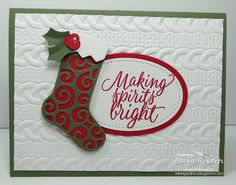 Last week I held all my Christmas Card classes.  That was a lot of cards and a lot of fun!              Some were my design and some inspir...